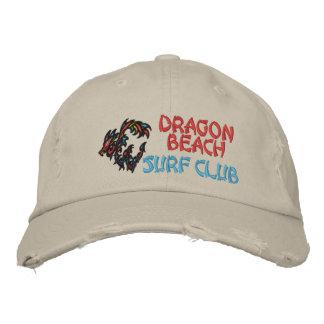 Dragon Beach Surf Club Embroidered Baseball Caps
