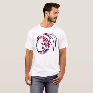Dragon Black Red Purple T-Shirt