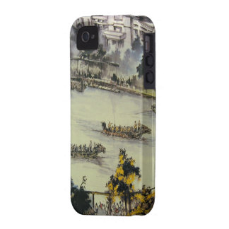 Dragon Boat iPhone 4 Cases