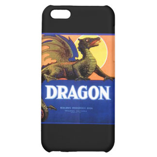 Dragon Brand Fruit Crate Label Cover For iPhone 5C