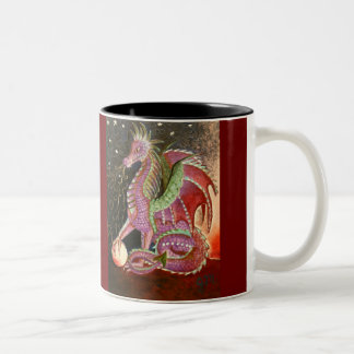 Dragon Breath 11 OZ. Two-Tone Mug