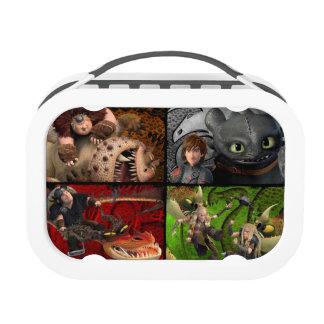 Dragon Buddies Lunch Box