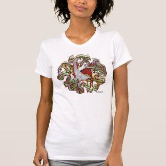 Dragon Camo Ladies Petite Shirt