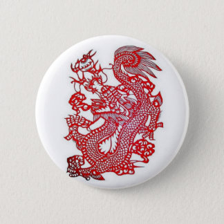 Dragon-Chinese Zodiac/ 6 Cm Round Badge