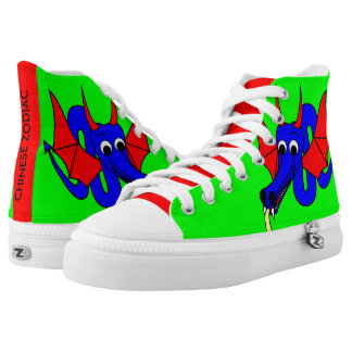 DRAGON - CHINESE ZODIAC PRINTED SHOES