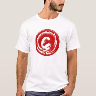 Dragon Circle Red EDUN LIVE Genesis Unisex T-Shirt