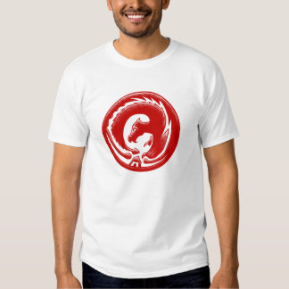 Dragon Circle Red EDUN LIVE Genesis Unisex Tee Shirt