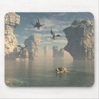 Dragon Cliffs Mouse Pad