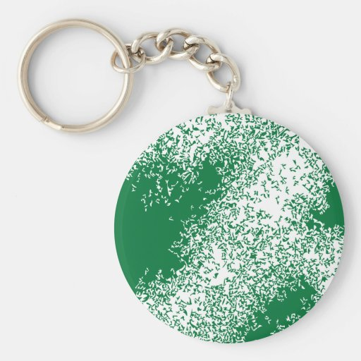 Dragon Clouds 04  in green Key Chain