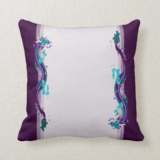 Dragon Collage (Customizable) Pillows