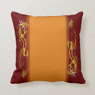 Dragon Collage (Customizable) Throw Pillow