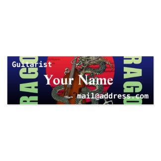Dragon Contrabass Business Card Template