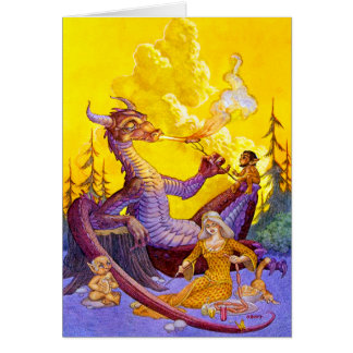 Dragon Cookout Card
