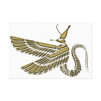 Dragon - creature of ancient Egypt Canvas Prints