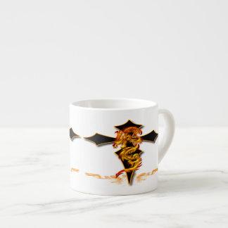 Dragon - Cross Espresso Mug