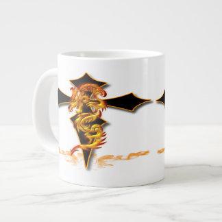 Dragon - Cross Jumbo Mug