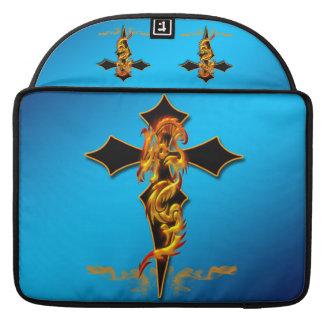 """Dragon - Cross Macbook Pro 15"""" Rickshaw Flap Sleev Sleeves For MacBook Pro"""