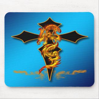 Dragon - Cross Mousepad