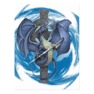 Dragon Cross - Postcard