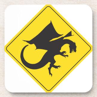 Dragon Crossing Beverage Coaster