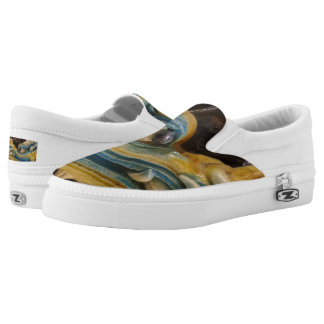 Dragon Custom Zipz Slip On Shoes,  Men & Women Printed Shoes