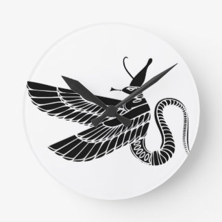 Dragon - demon of ancient Egypt Clock