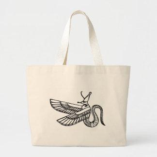 dragon - demon of ancient Egypt Bags