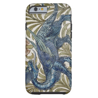 'Dragon' design for a tile (w/c on paper) Tough iPhone 6 Case