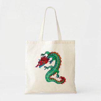 Dragon Design on Budget Tote Bag