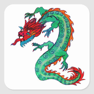 Dragon Design on Stickers