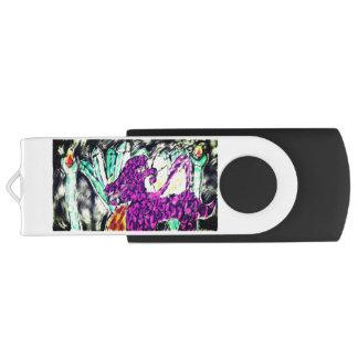 dragon diamond art USB flash drive