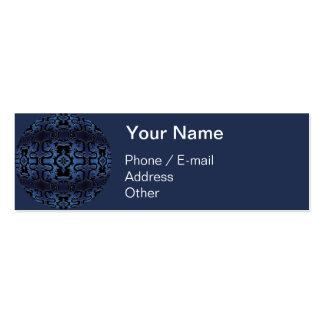 Dragon Dilemma Kaleidoscope Mandala Business Card Templates