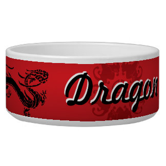 Dragon Dog Bowl