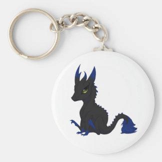 Dragon Dog Key Ring