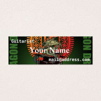 Dragon drum mini business card