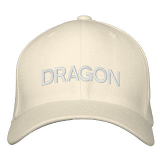 DRAGON EMBROIDERED BASEBALL CAP