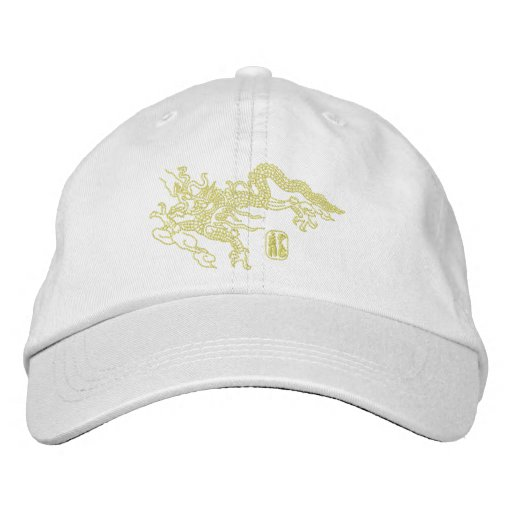 Dragon Embroidery Embroidered Baseball Caps