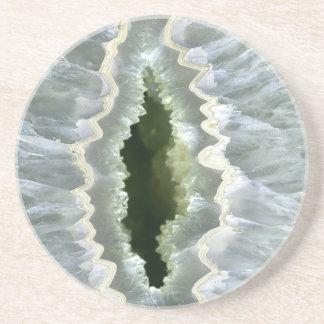 Dragon Eye Agate Druzy Coaster