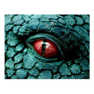 Dragon Eye Fantasy Gothic Postcard