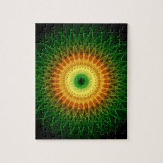 Dragon Eye Mandala Jigsaw Puzzle