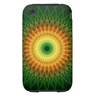 Dragon Eye Mandala Tough iPhone 3 Cases