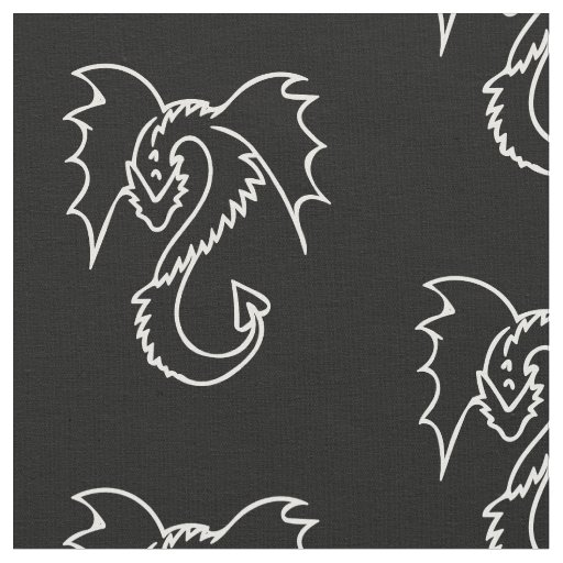 dragon fabric
