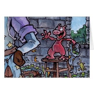 Dragon Familiar Card