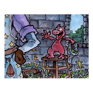 Dragon Familiar Postcard