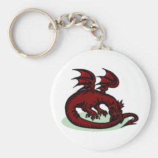 Dragon Fantasy 7 Key Ring