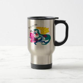 Dragon Fantasy Stainless Steel Travel Mug