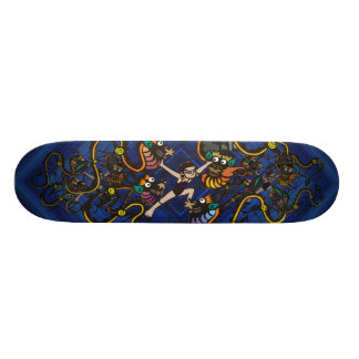 Dragon Fighter Fighting Dragons 19.7 Cm Skateboard Deck