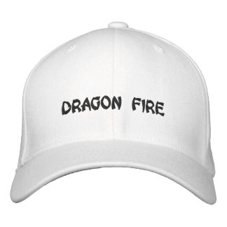 DRAGON FIRE EMBROIDERED HAT