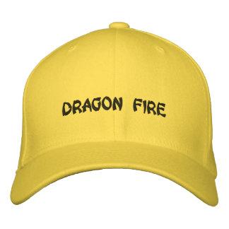 DRAGON FIRE EMBROIDERED BASEBALL CAPS