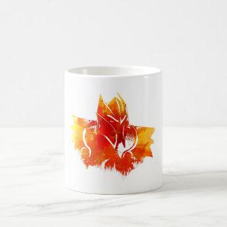 Dragon fire coffee mugs